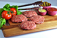 Grillers Pride Gourmet Beef Patties (4x6 oz.) NOT KFP