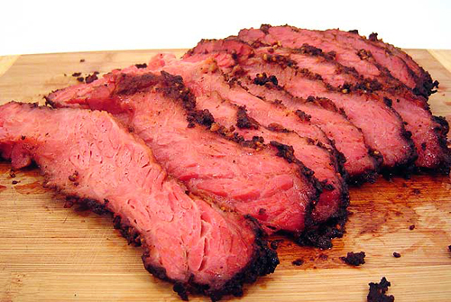 Corned Beef Brisket, 1st Cut (6-7 lb.), Uncooked, American Angus $14 ...